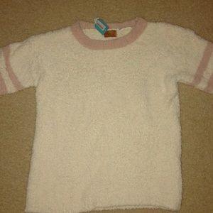 POL quarter sleeve fleece shirt